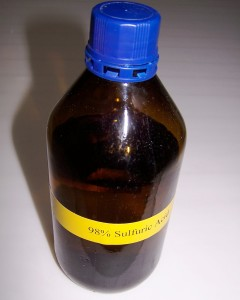 Sulfuric Acid for Etching